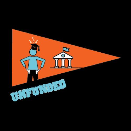 Unfunded University Logo